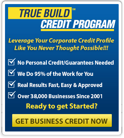 Corporate credit how to build business credit cards accounts for over 38000 companies have gone through this program since 2001 and are obtaining the following right nowwithout any personal guarantee colourmoves